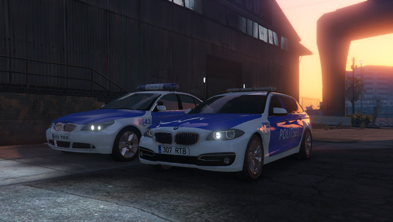 estonian police politsei bmw 525d gta5. Black Bedroom Furniture Sets. Home Design Ideas