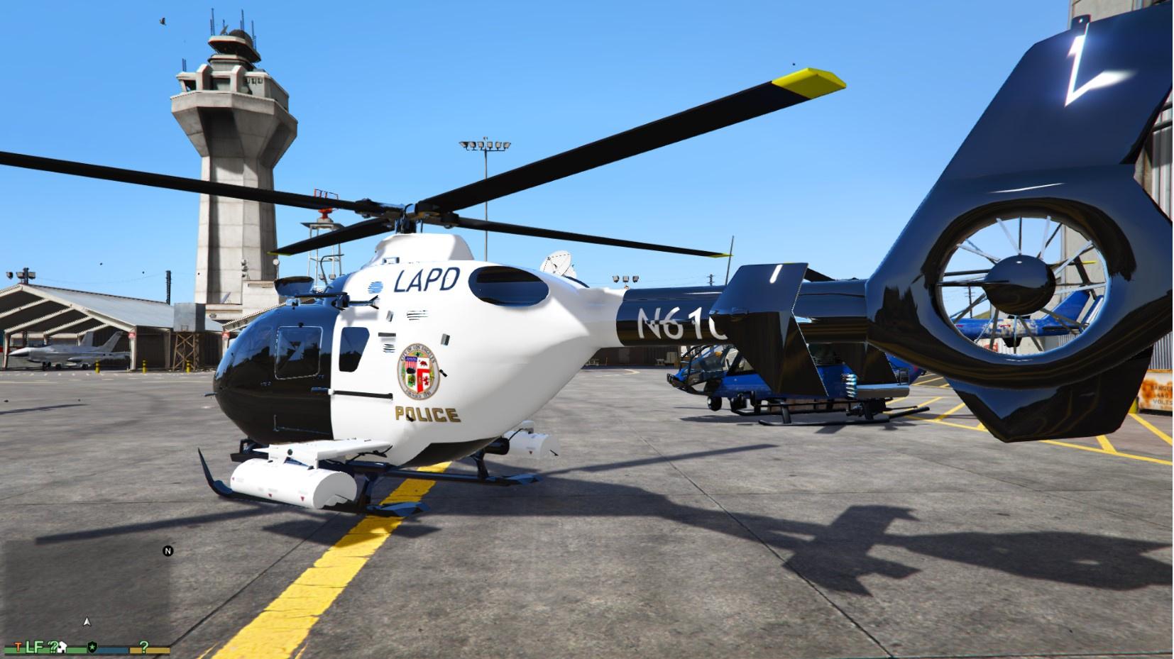Eurocopter Ec 135 Lapd Version Gta5 Mods Com