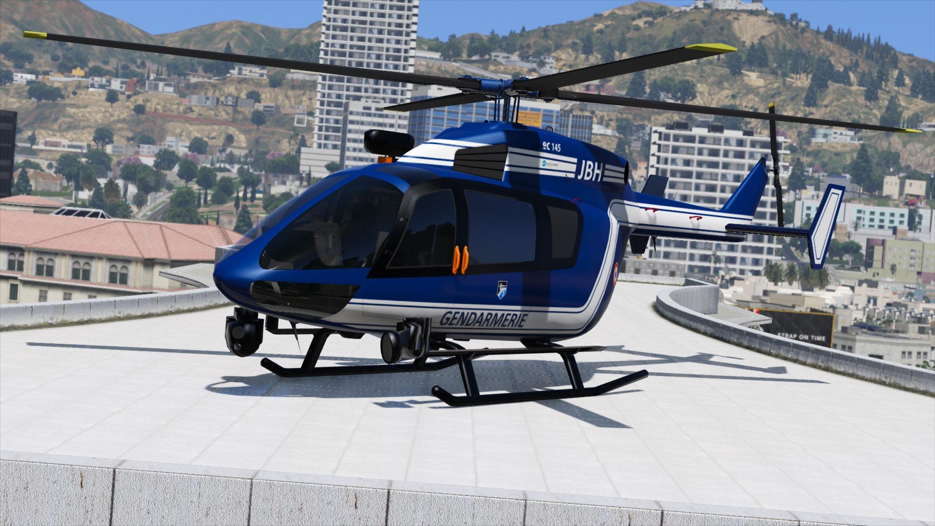 eurocopter ec145 gendarmerie template gta5 mods com