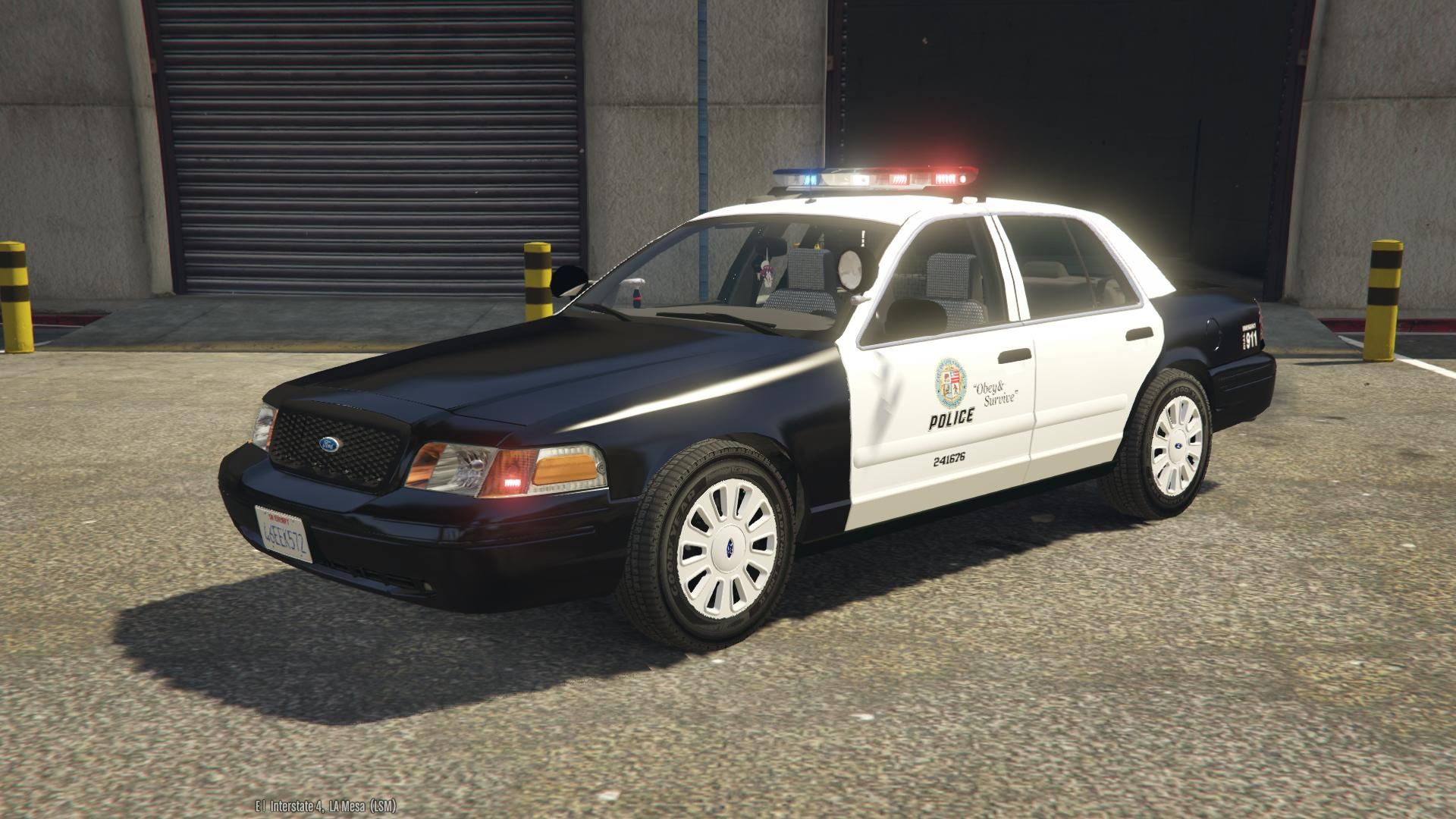 evl 2011 ford crown victoria police interceptor los santos emergency services pack gta5. Black Bedroom Furniture Sets. Home Design Ideas