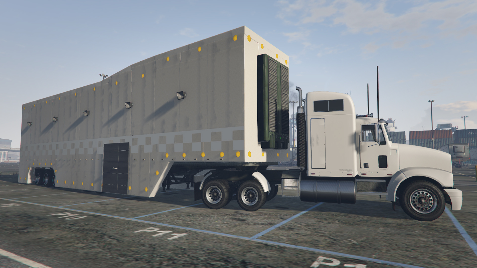 featherlite executive racing trailer and livery menyoo gta5. Black Bedroom Furniture Sets. Home Design Ideas