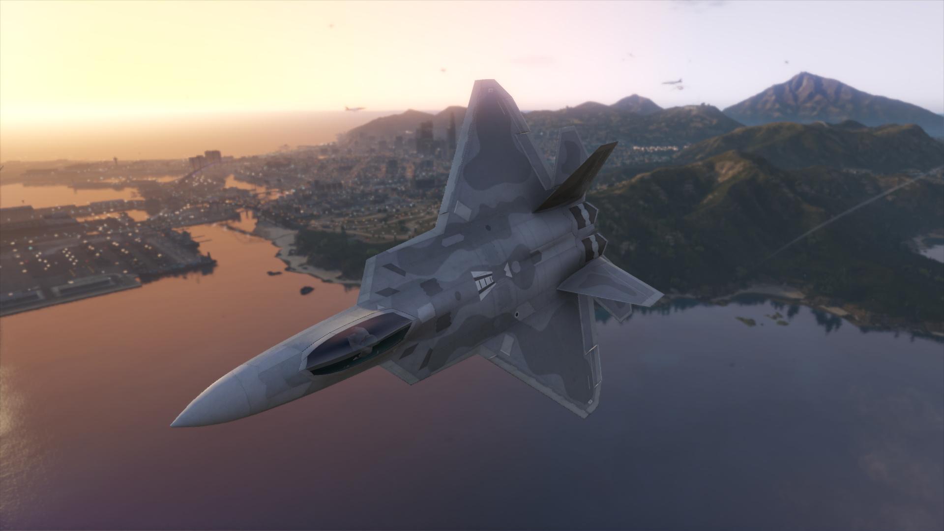 F 22 Raptor Gta5 Mods Com