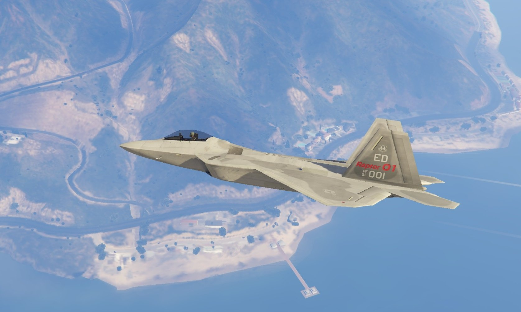 how to make 3d f 22