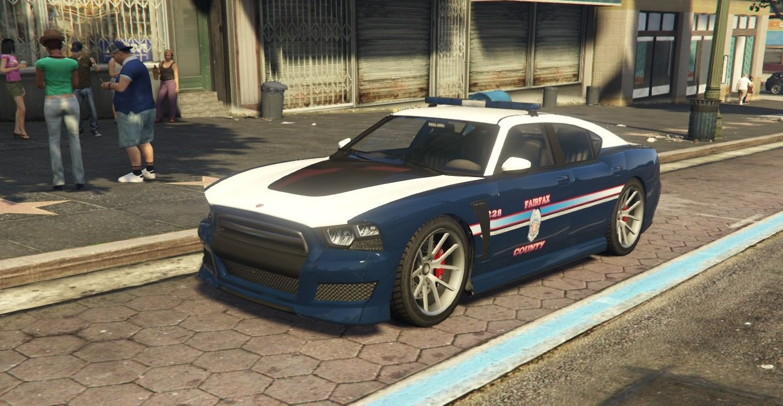 Fairfax county police Buffalo-S - GTA5-Mods com