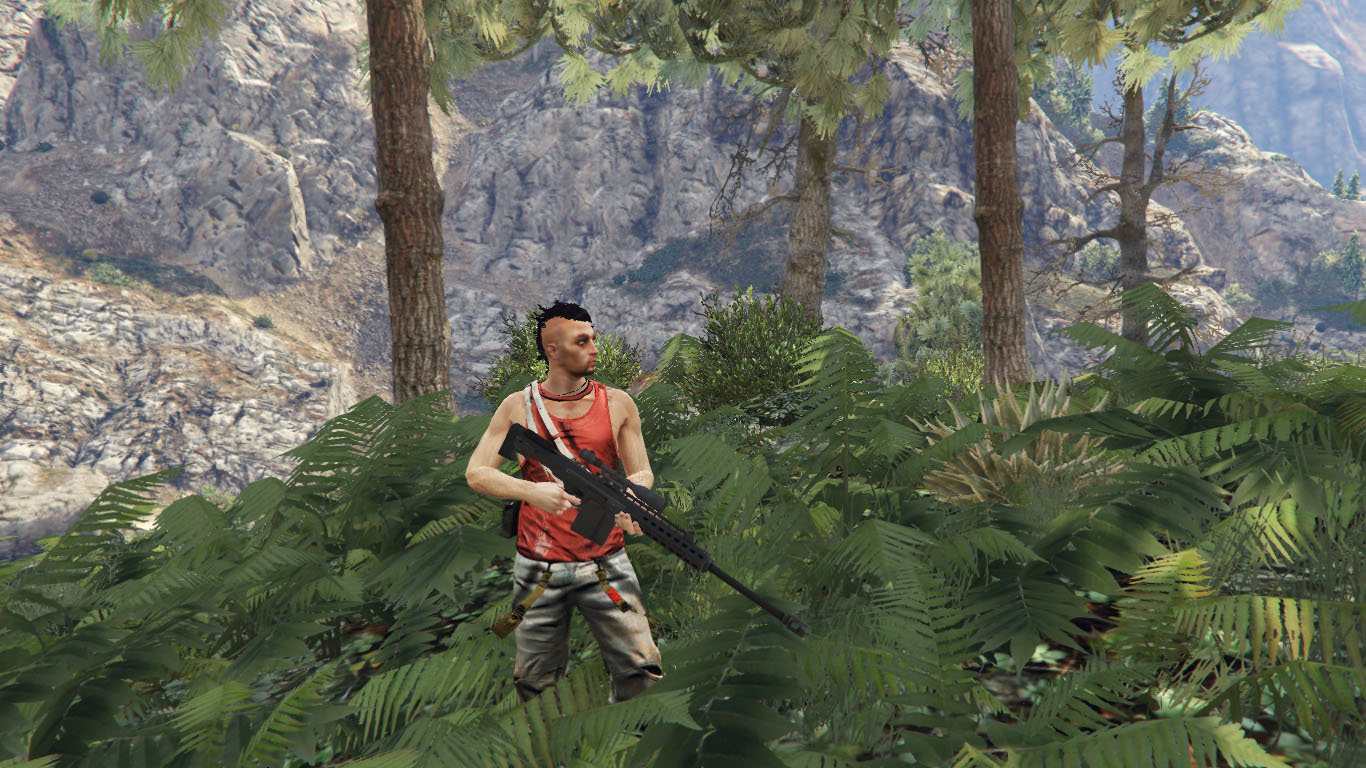 Far Cry 3 Vaas Ped model - GTA5-Mods com