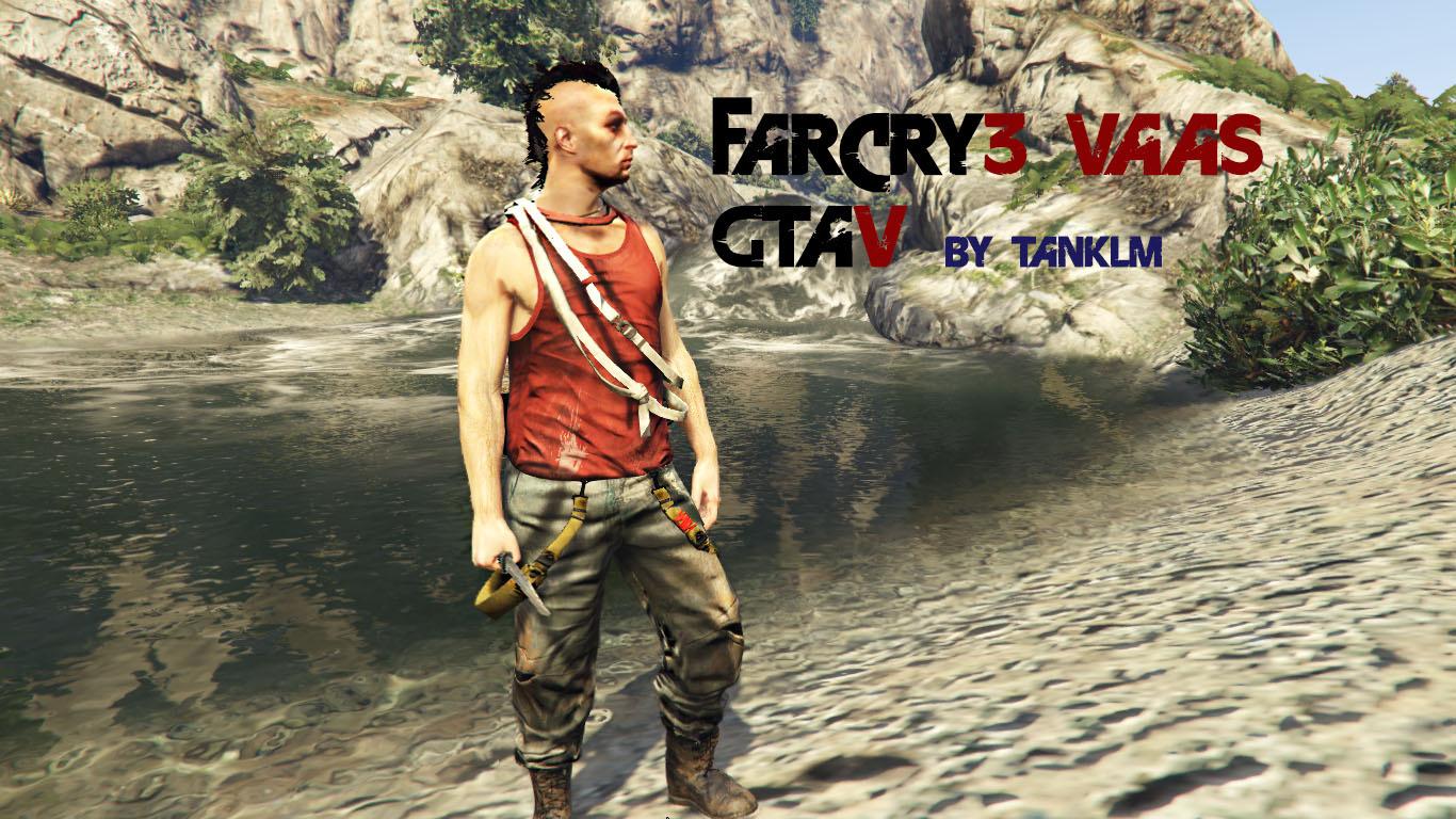 Far Cry 3 Vaas Ped Model Gta5 Mods Com