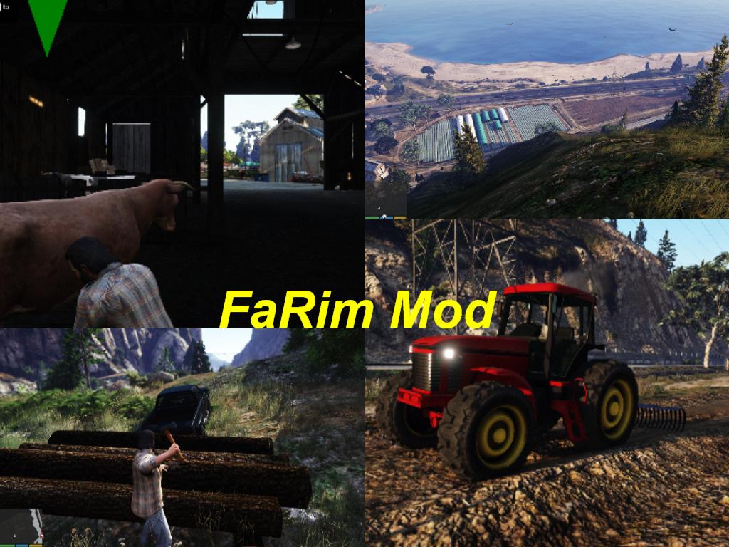Euro Truck Simulator / Farming Simulator / Rimworld - FaRim