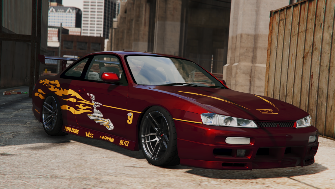 Fast And Furious Letty's Nissan S14 Vinyl - GTA5-Mods.com