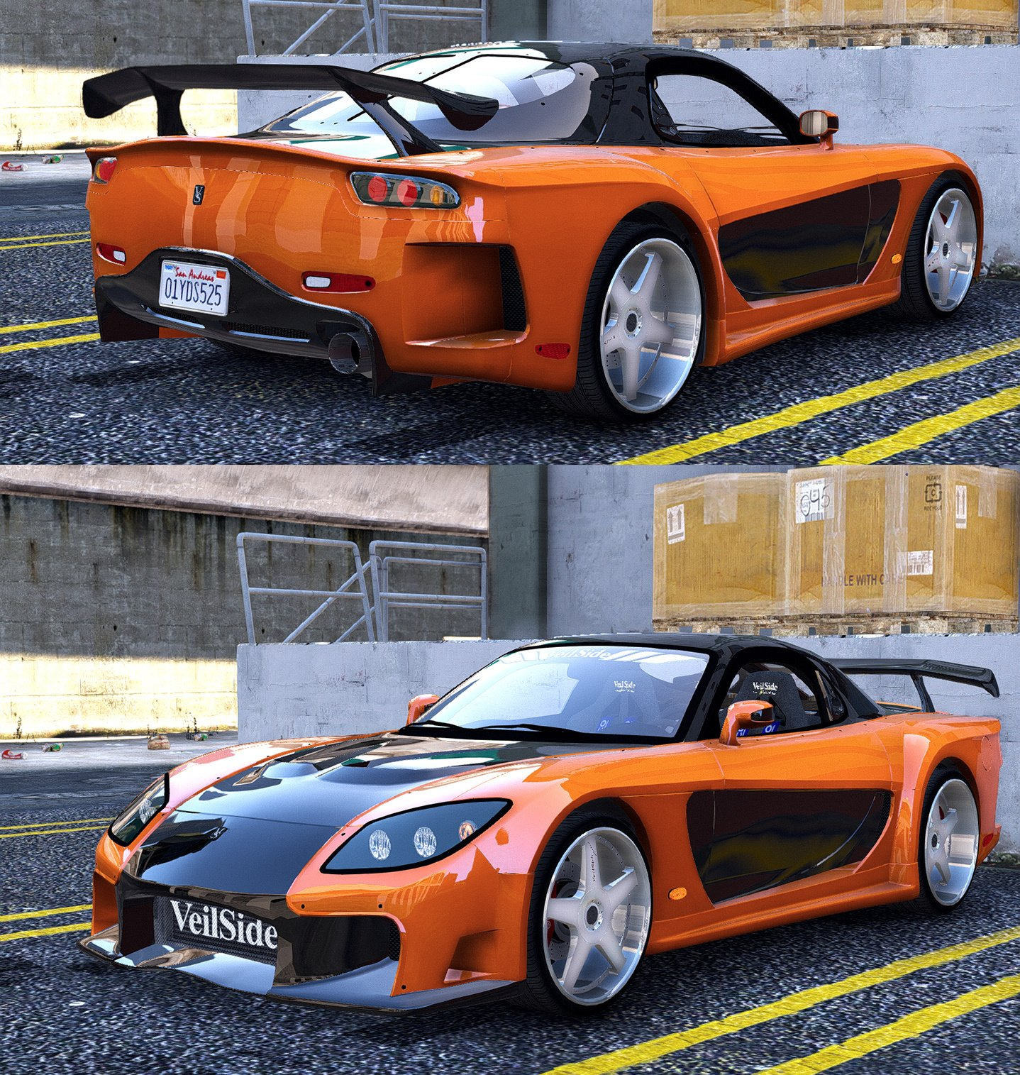 [Fast & Furious] N-Speak Car Pack [Add-On OIV]