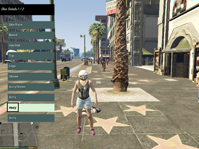 how to change player in gta 5 pc