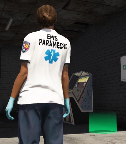 Female Paramedic FiveM MP - GTA5-Mods com