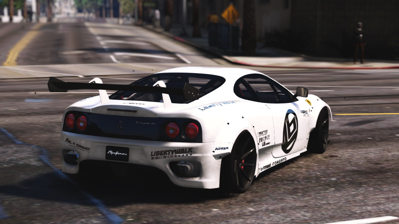 ferrari 360 modena libertywalk gta5. Black Bedroom Furniture Sets. Home Design Ideas