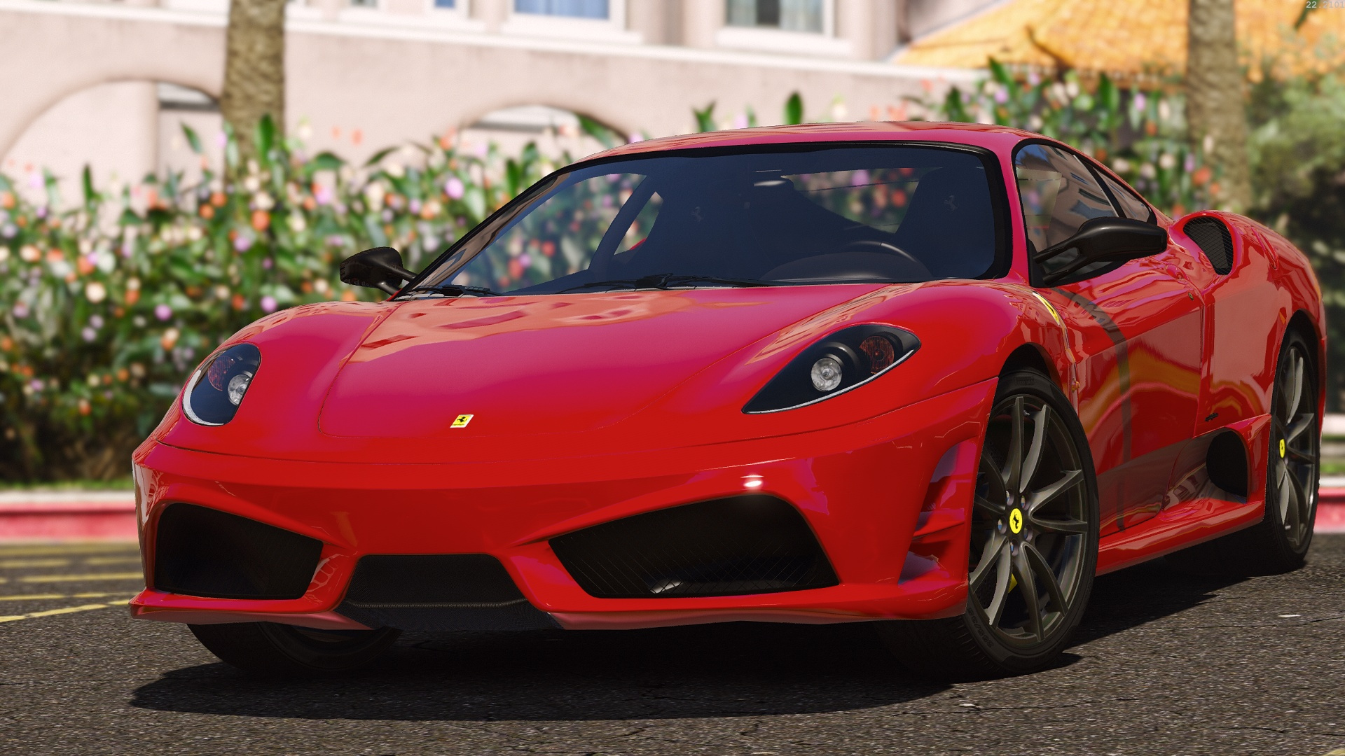 ferrari f430 scuderia add on replace tuning template gta5. Black Bedroom Furniture Sets. Home Design Ideas