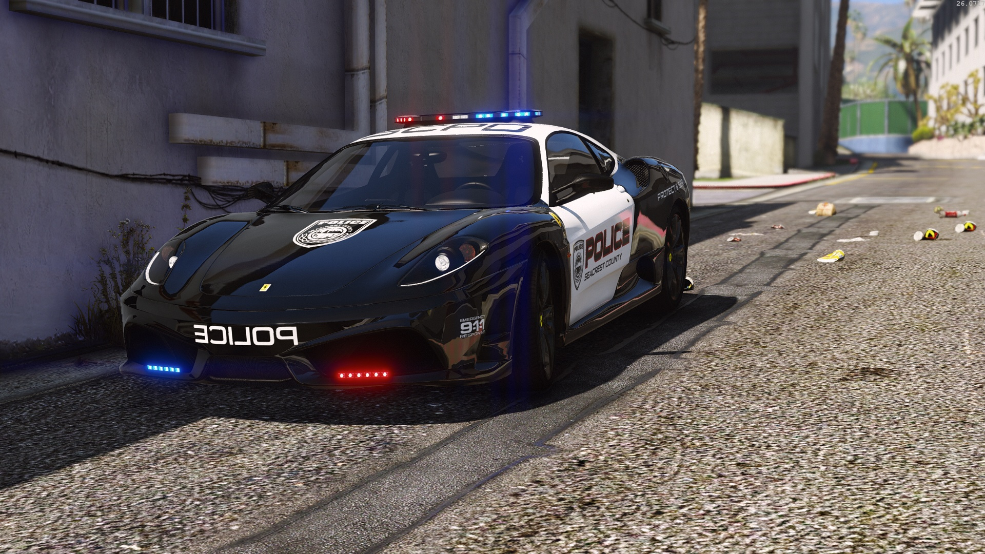 Ferrari F430 Scuderia | Hot Pursuit Police [Add-On ...