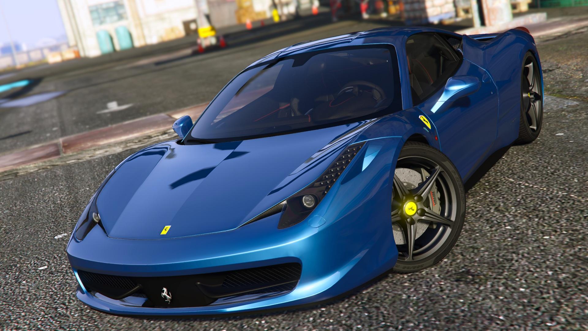 ferrari 458 italia autovista [add-on / replace | tuning | template