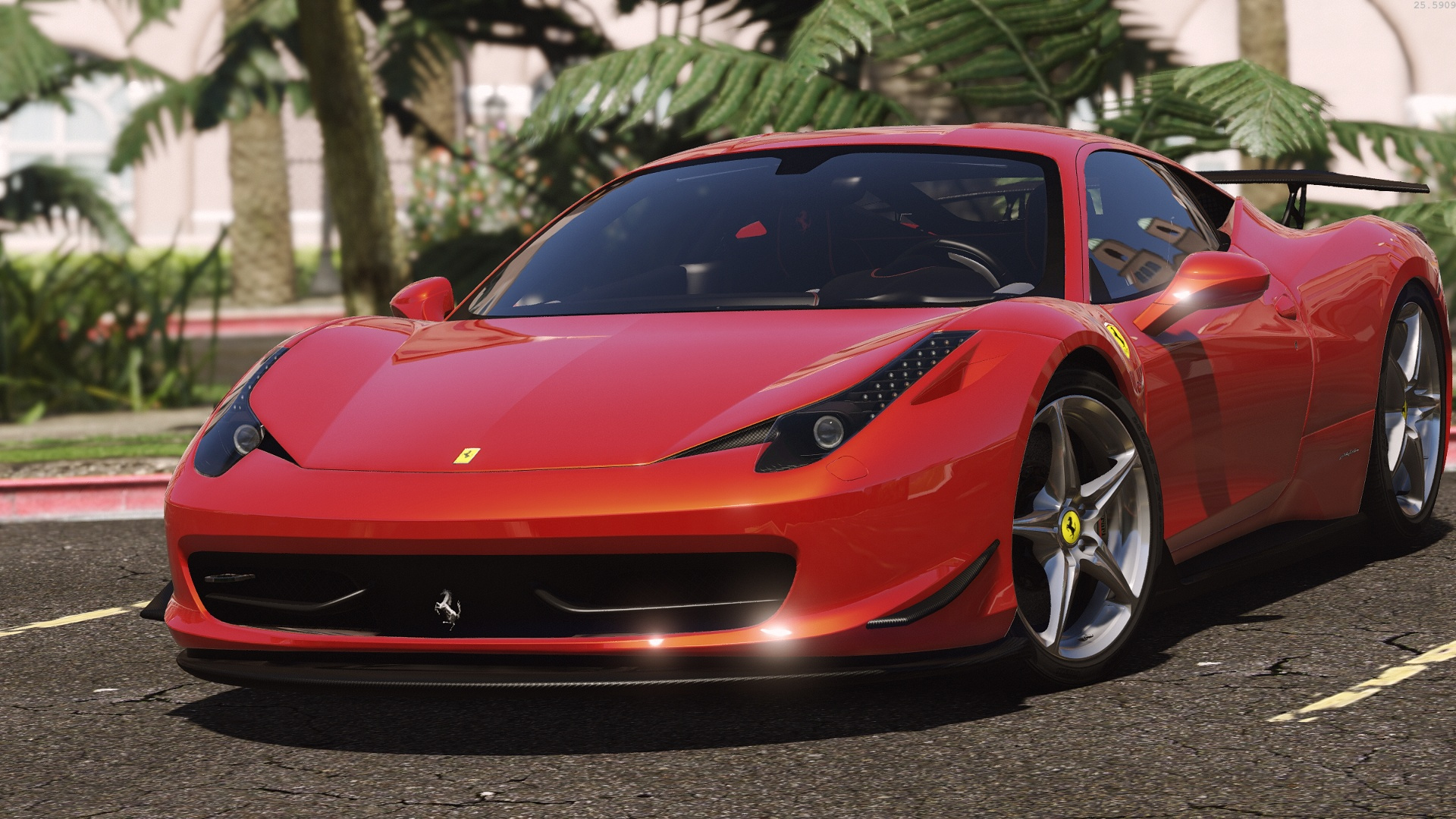 59e6ba gta5 26 11 2016 04 04 41 315 - 2016 Ferrari 458 Replacement