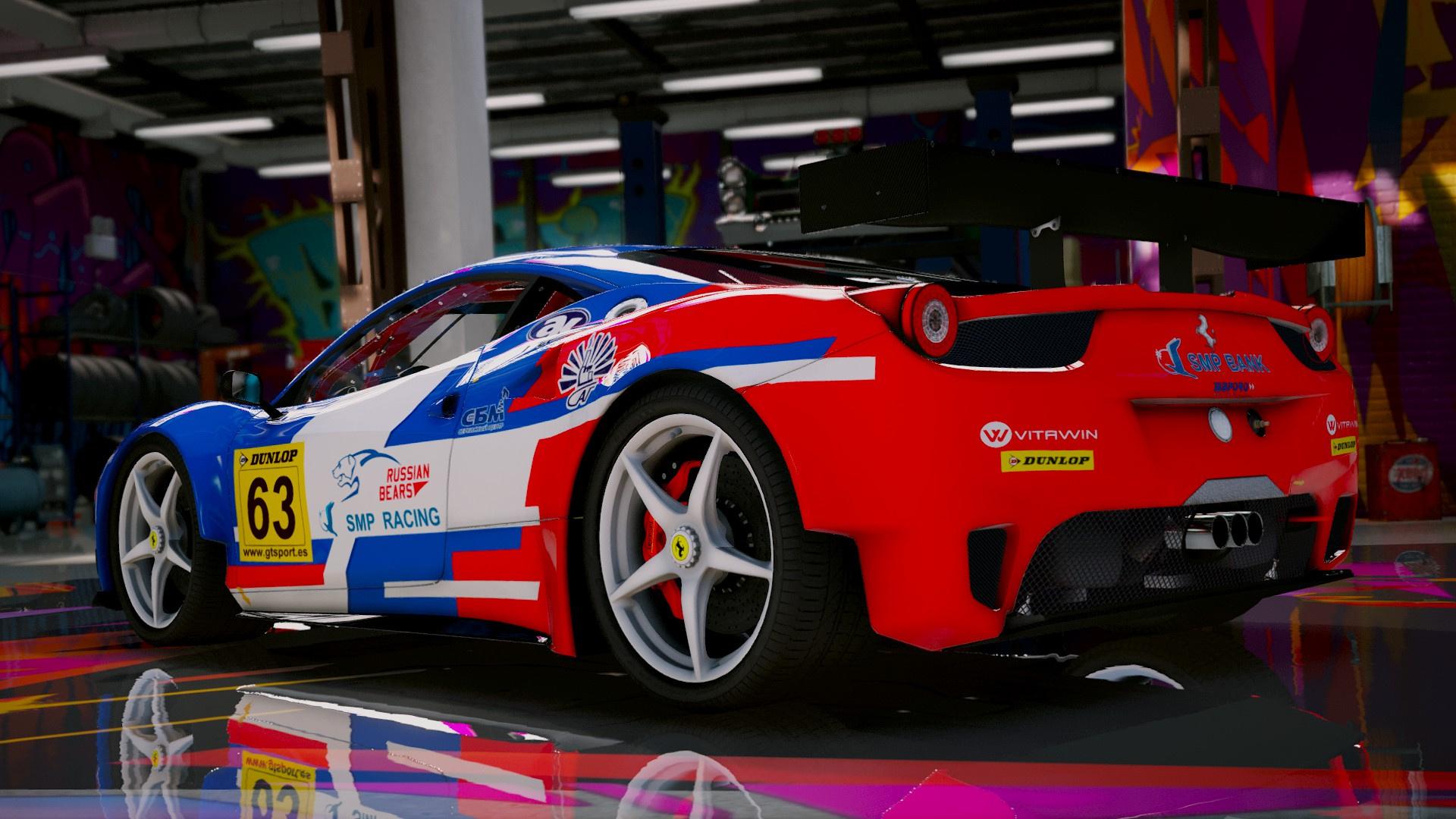 Ferrari 458 Italia GT2 [Add-On