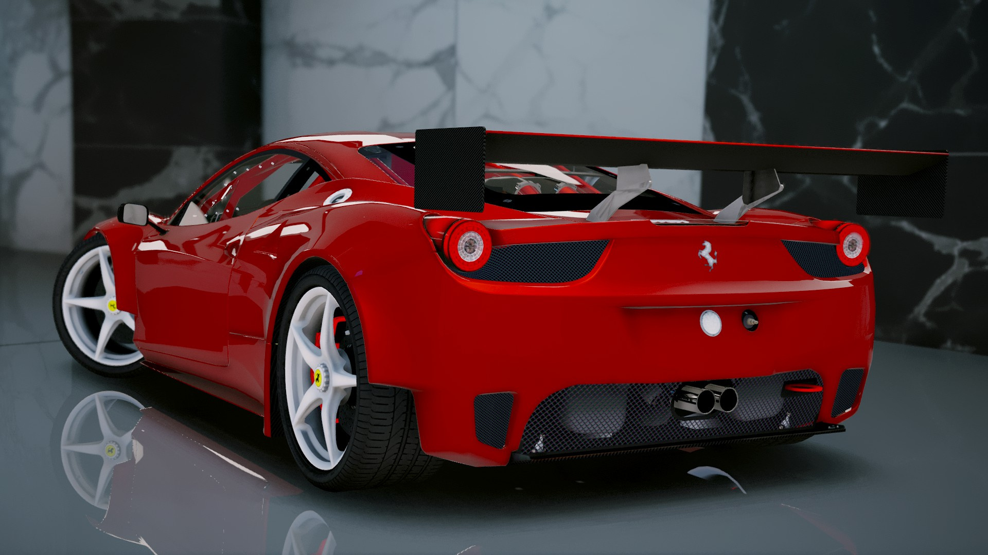 Ferrari 458 italia gt2 add on tuning gta5 for Be italia