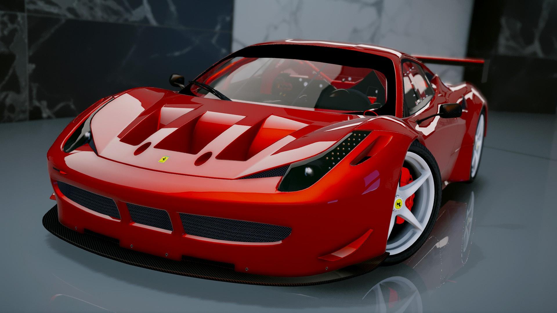 Ferrari 458 Italia Gt2 Add On Tuning Gta5 Mods Com
