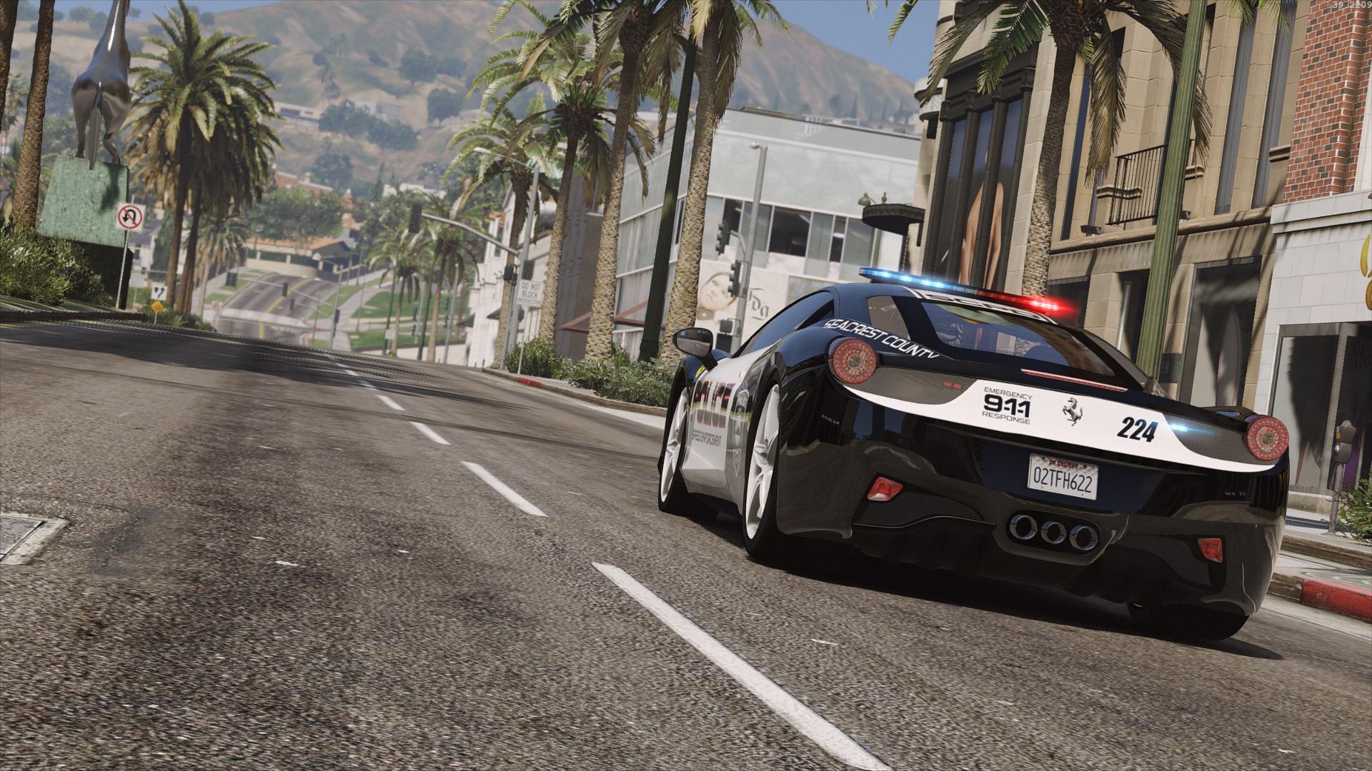 Ferrari 458 Italia | Hot Pursuit Police | AUTOVISTA [Add-On