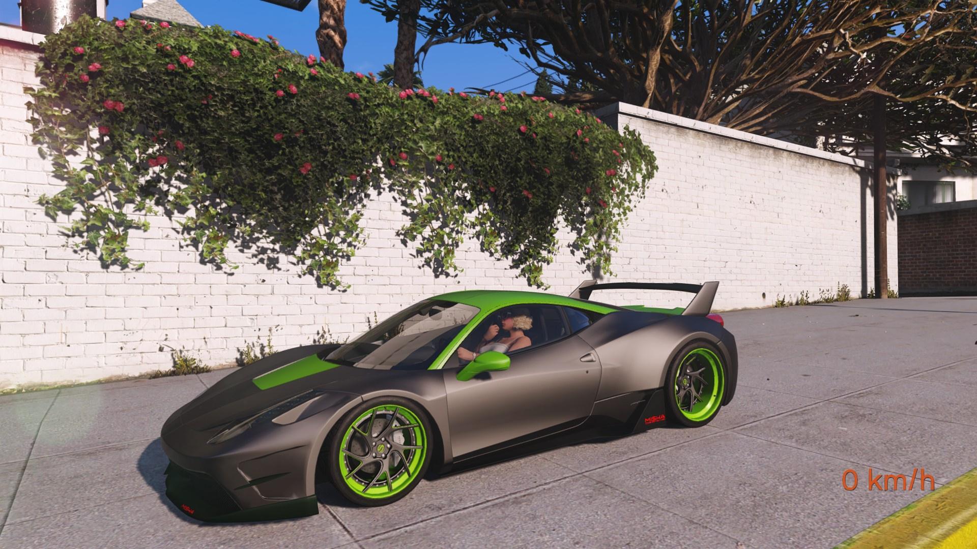 How Much Is A Car Paint Job >> Ferrari 458 Italia Misha Design By Hachiraito 6 Simple