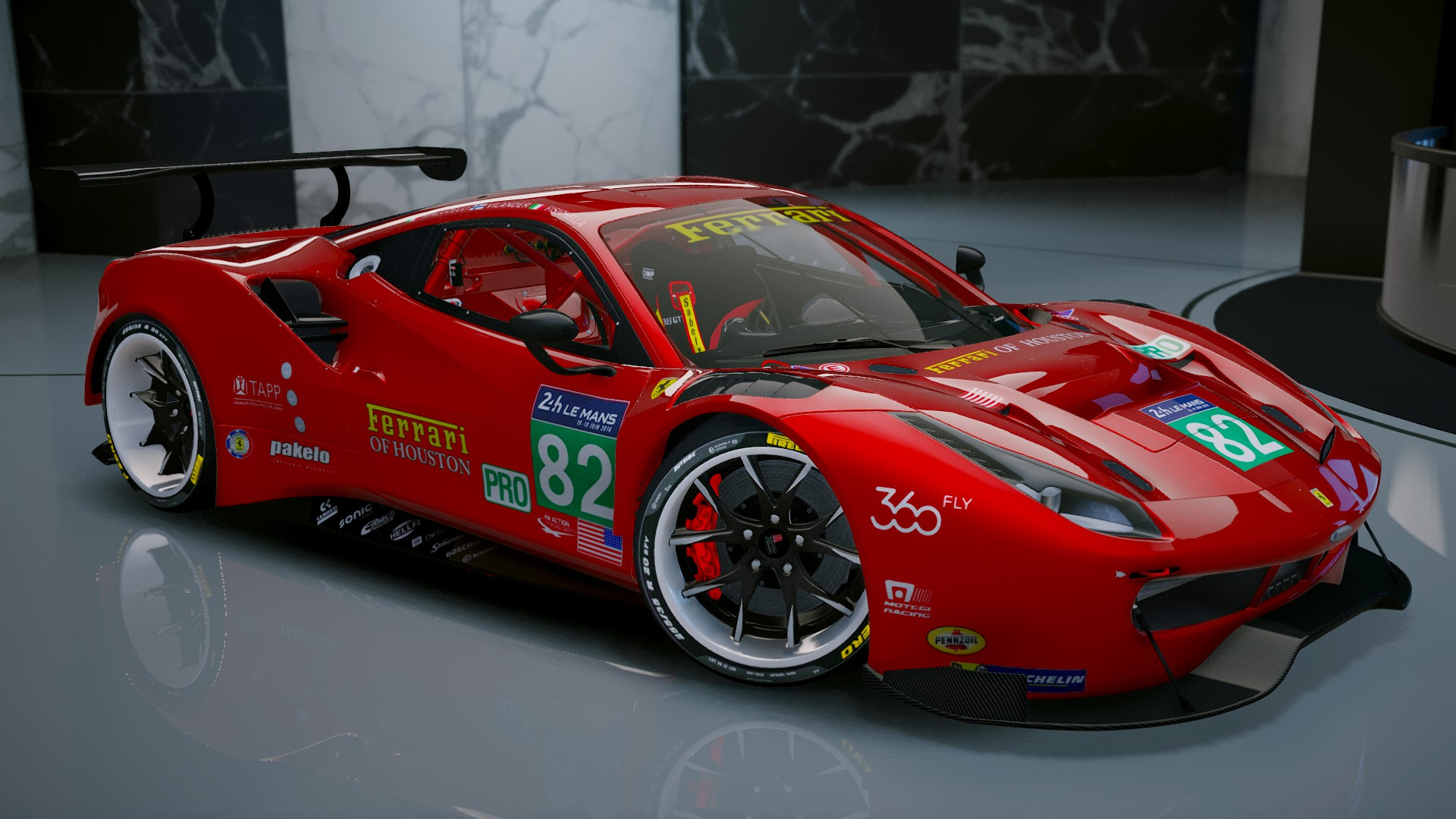 ferrari 488 gt3 add on gta5. Black Bedroom Furniture Sets. Home Design Ideas