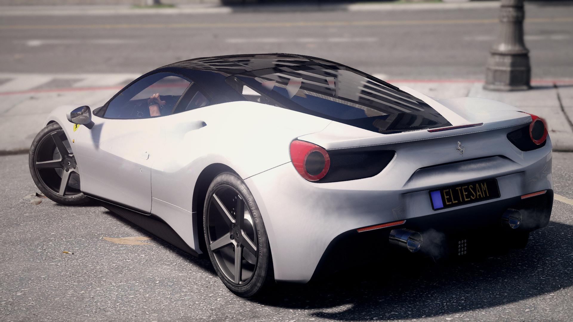 ferrari 488 gtb black roof - Ferrari 488 Gtb Black