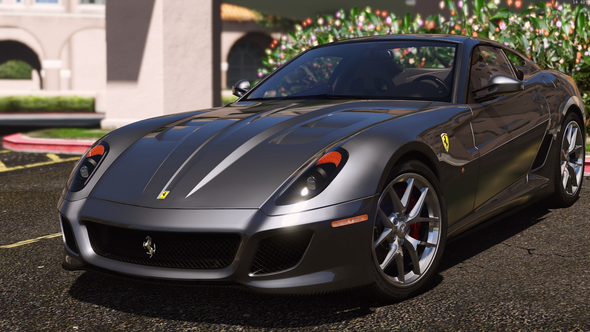 ferrari 599 gto autovista add on replace gta5. Black Bedroom Furniture Sets. Home Design Ideas