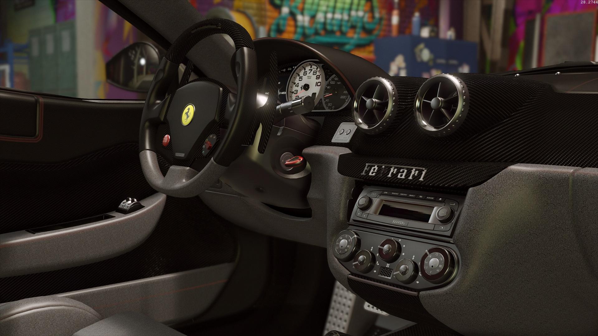 ferrari 599 gto autovista add on replace gta5. Black Bedroom Furniture Sets. Home Design Ideas