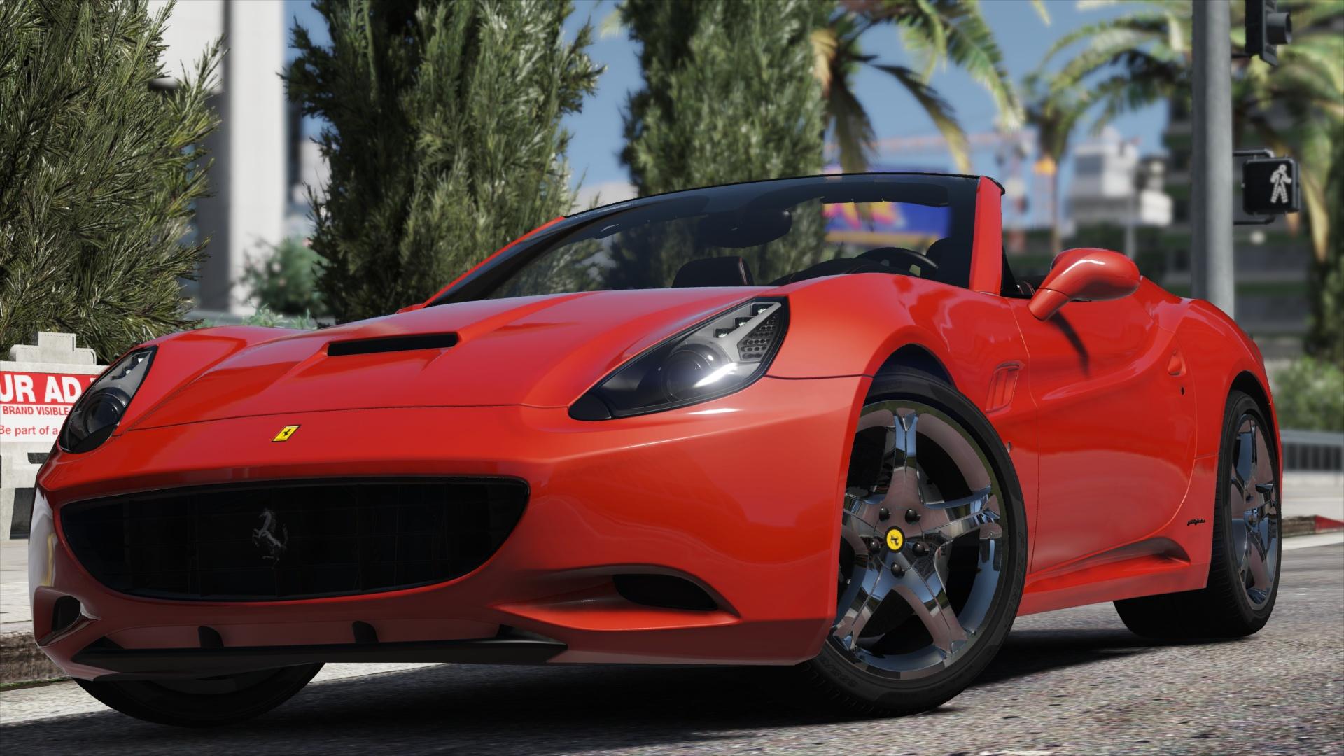 Ferrari California Autovista Add On Replace Gta5