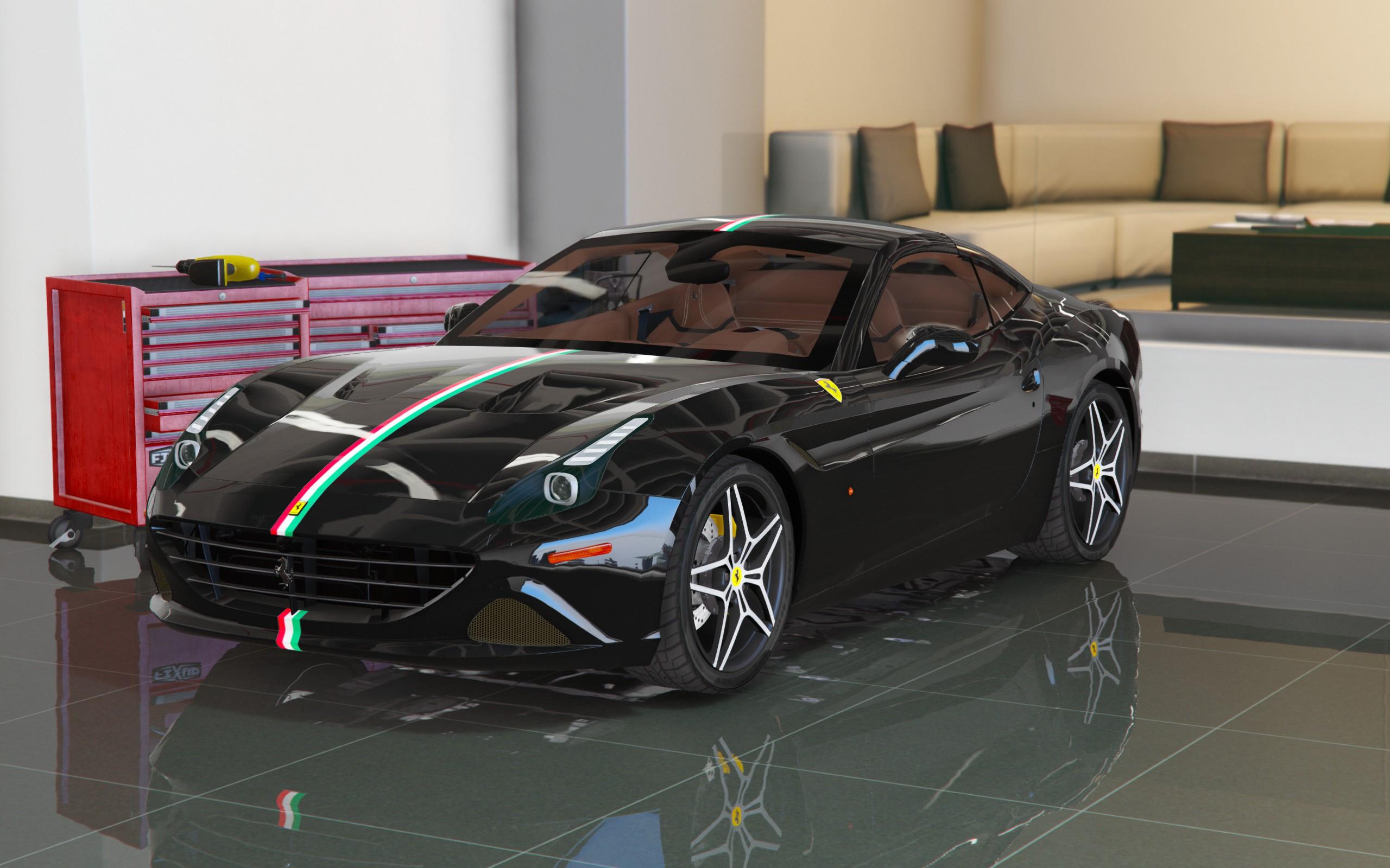 2015 ferrari california t add on replace gta5 - 2017 ferrari california interior ...
