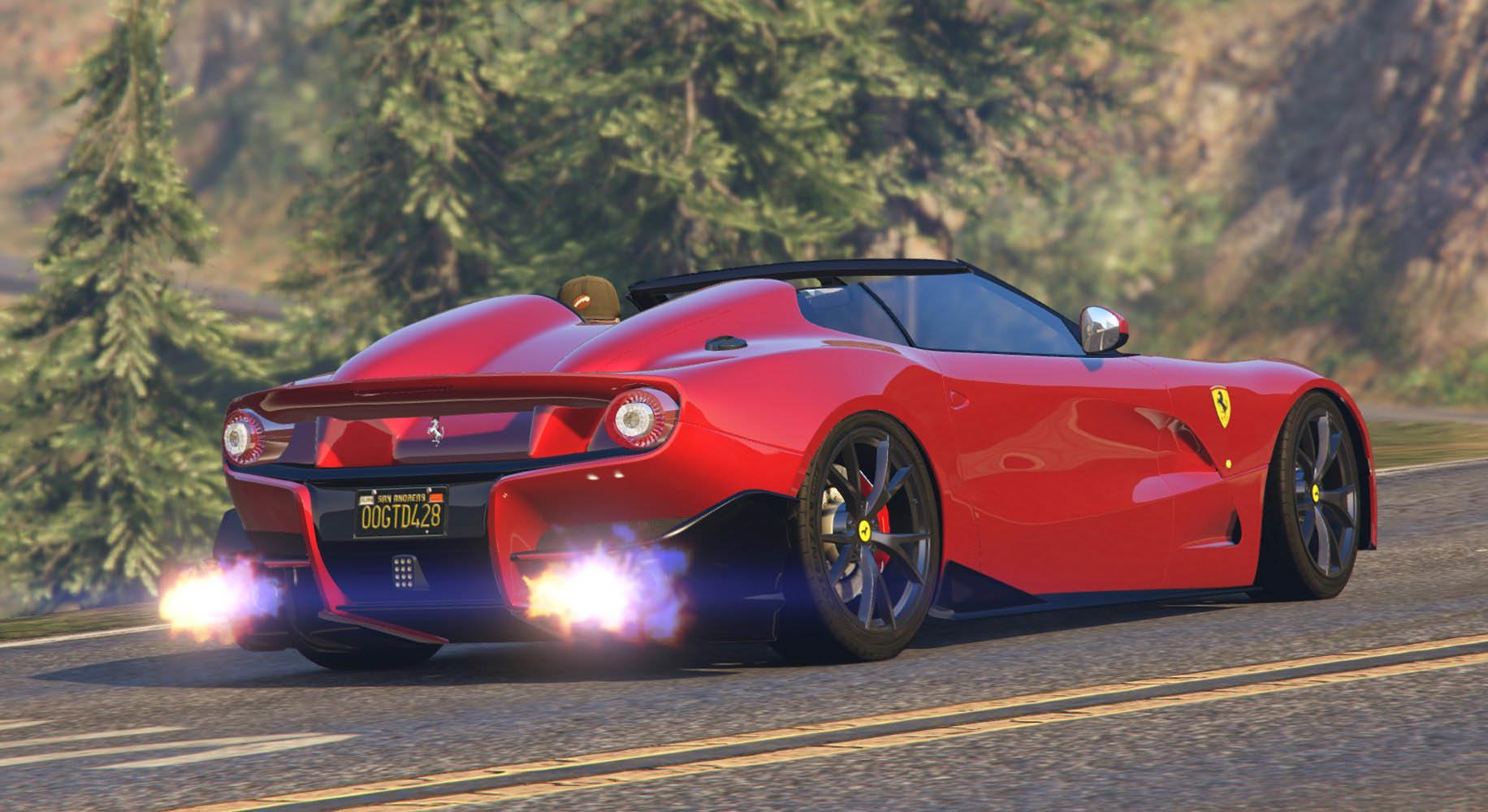 Ferrari F12 TRS & F60 America [Add-On