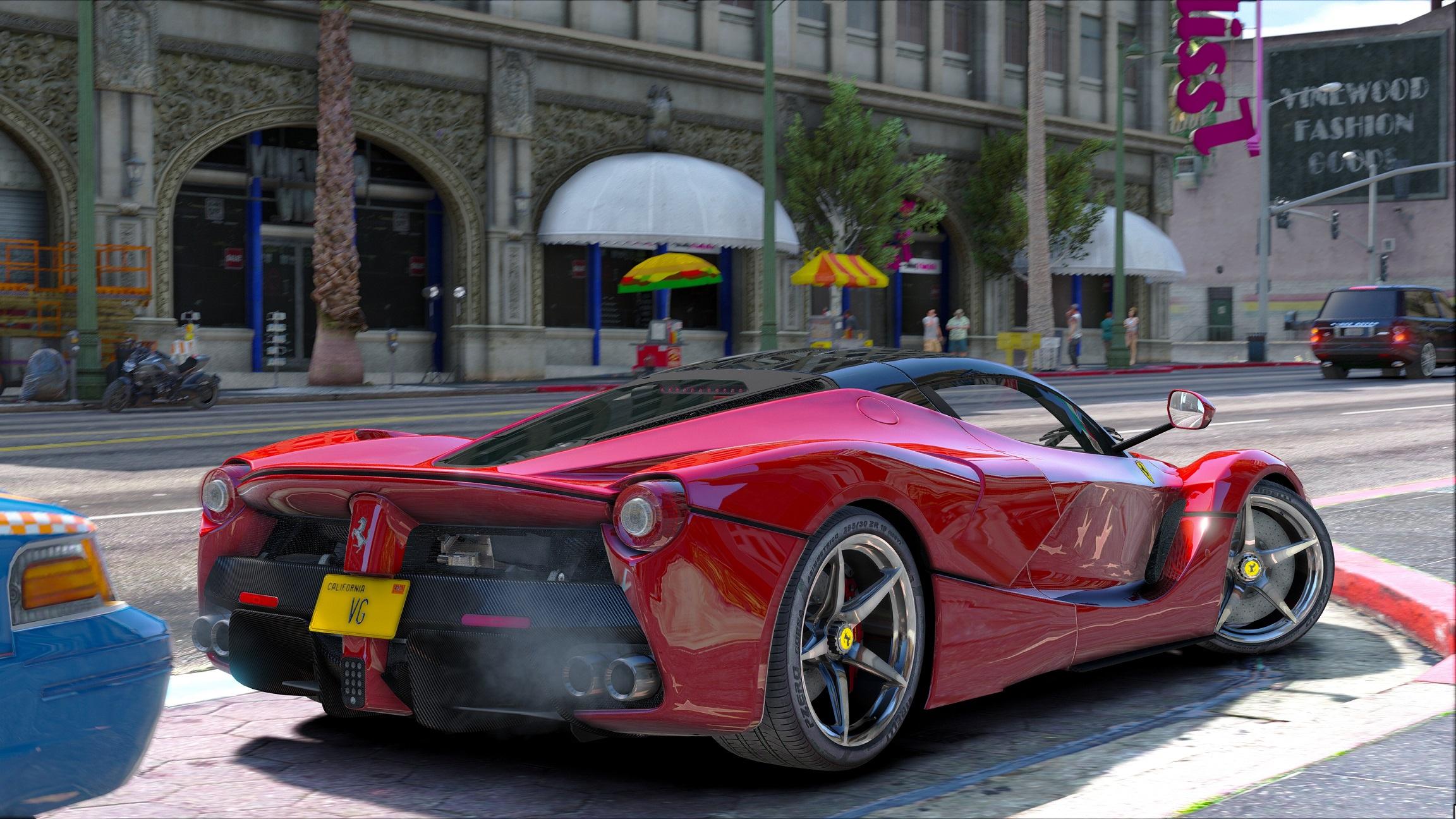 Ferrari Laferrari Gta5 Mods Com