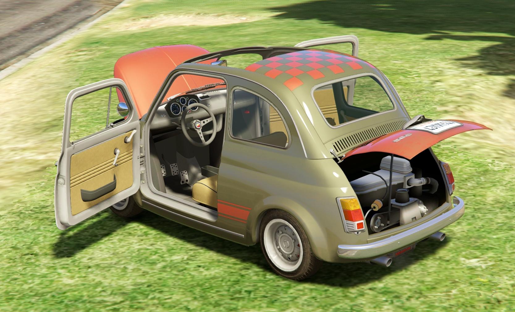 Fiat Abarth 595ss [Add-On / Rep | Tuning | Livery] - GTA5-Mods.com