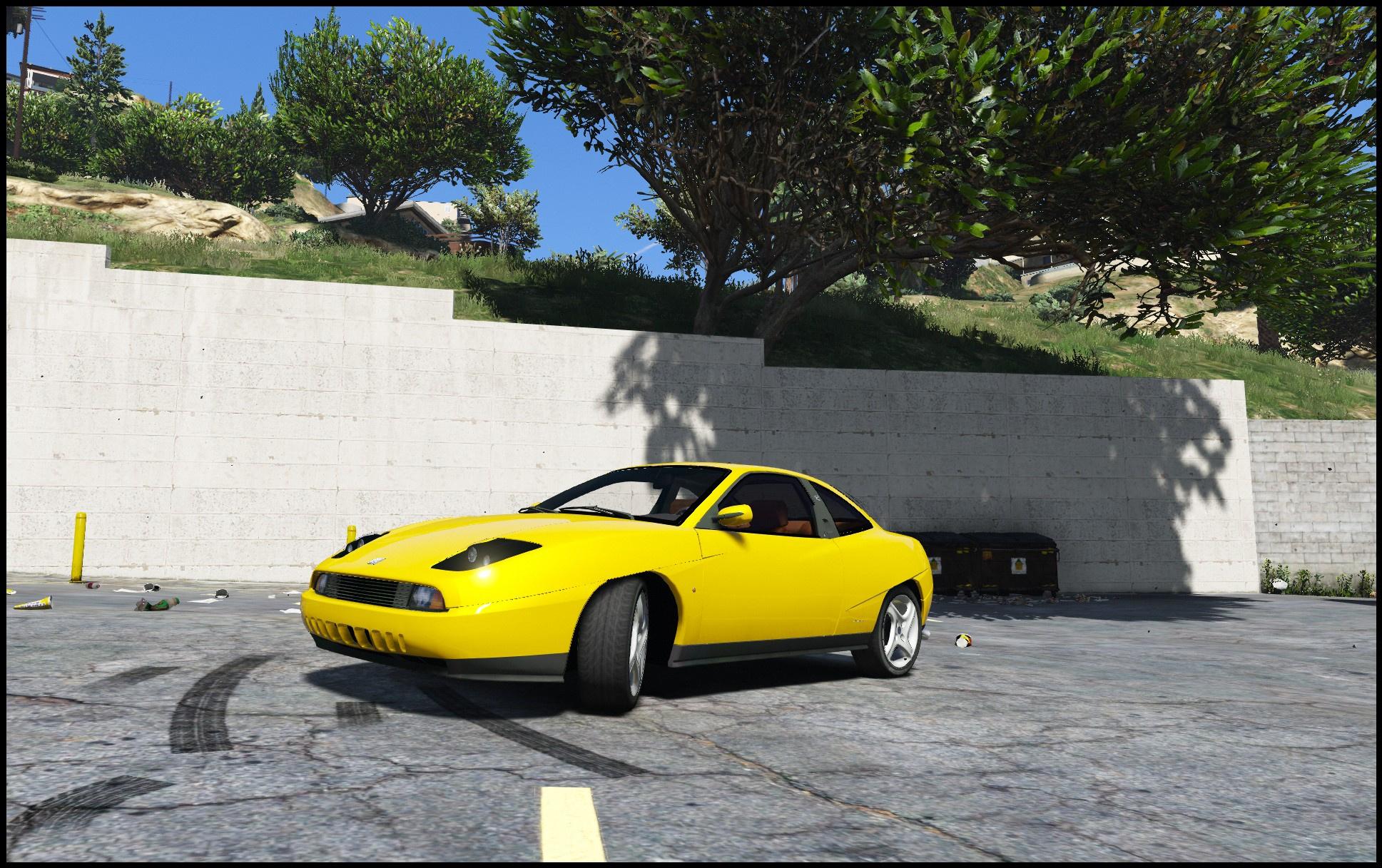Fiat Coupe [Add-On / Replace] - GTA5-Mods com