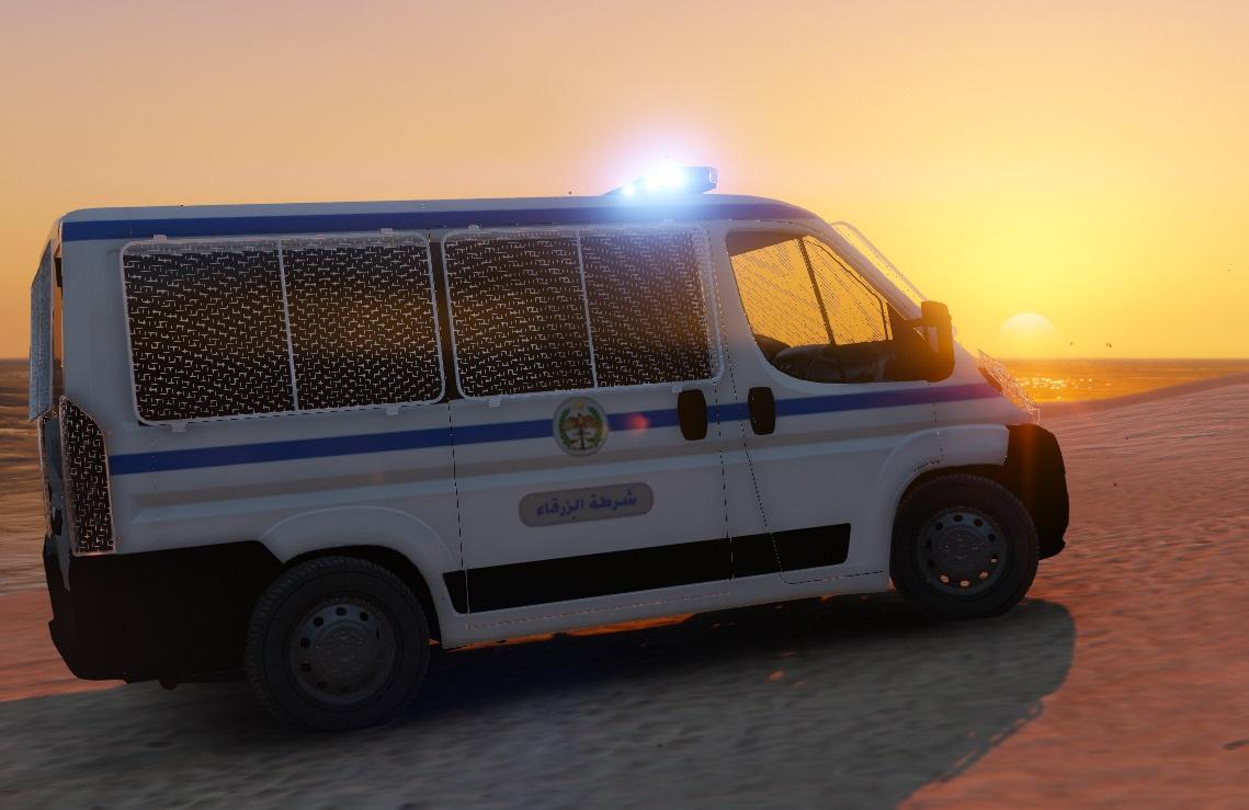 fiat ducato jordan police transporter beta gta5. Black Bedroom Furniture Sets. Home Design Ideas