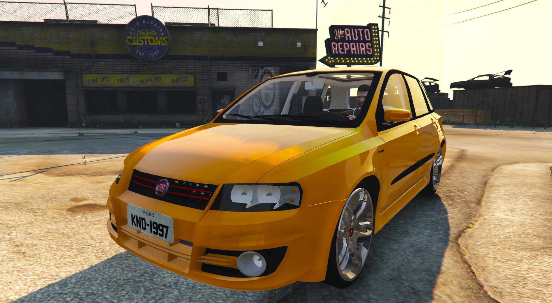 Fiat Stilo Sporting Two Versions Gta5 Mods Com