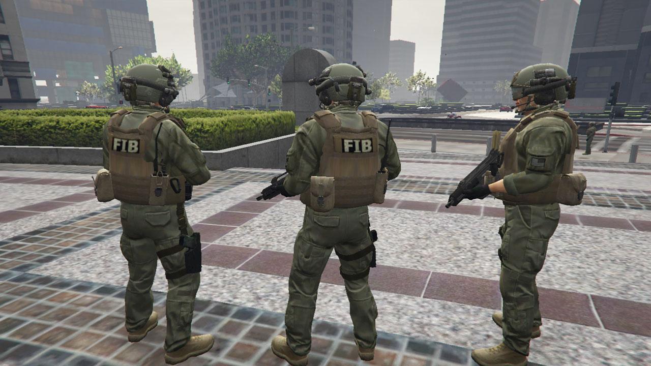 Michael FIB Jackets Pack - GTA5-Mods.com