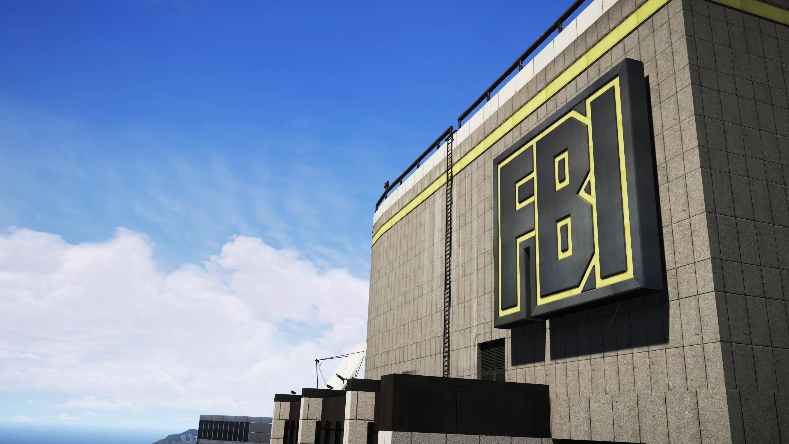 FBI - CIA Tower Sign & Interiors Reworked - GTA5-Mods com