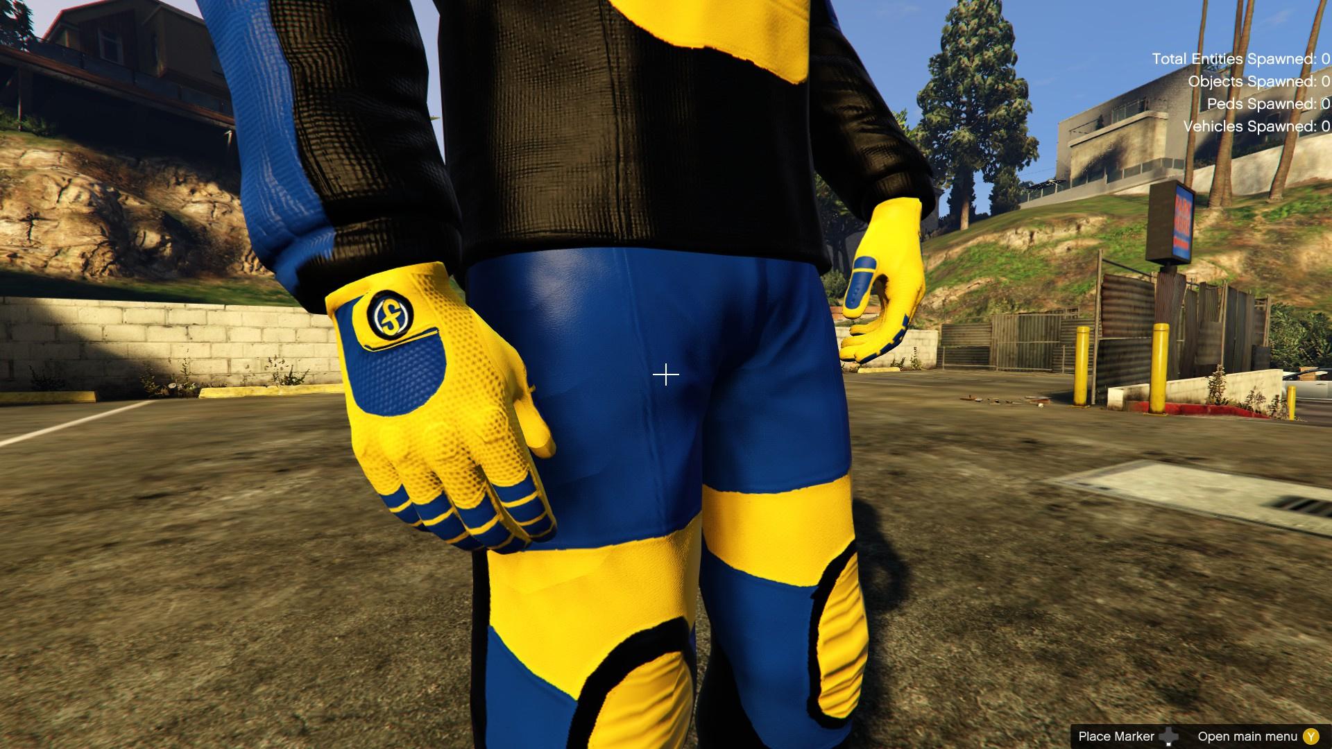 Figureight Racing Outfit For Michael - GTA5-Mods.com