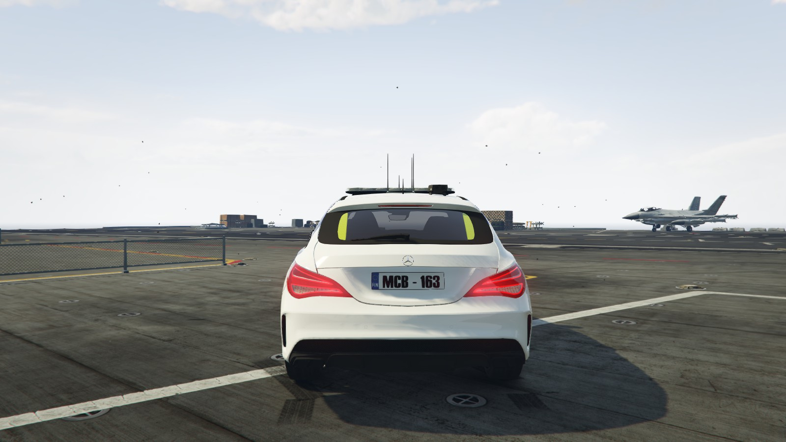 Finnish police mercedes benz cl 45 amg gta5 for Mercedes benz gta