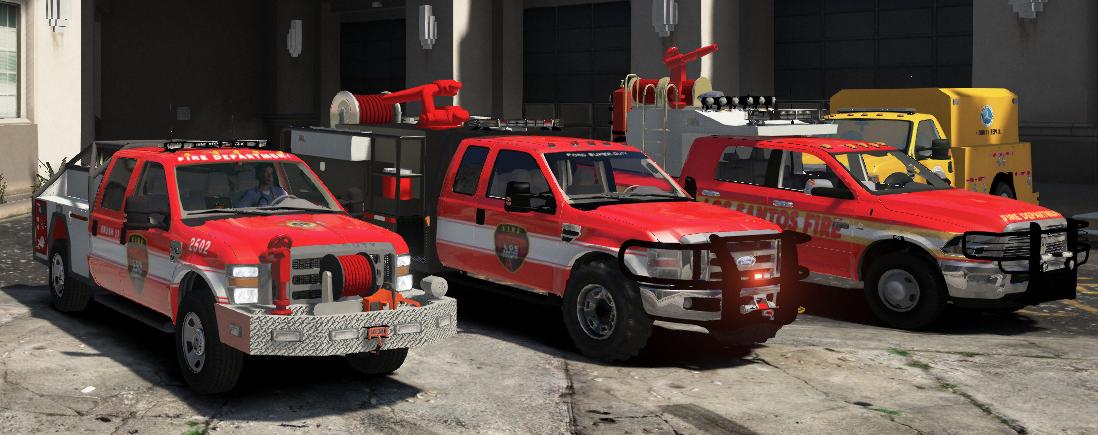 Dodge Utility Van >> Candi's Fire Department Vehicle Pack for FiveM - GTA5-Mods.com