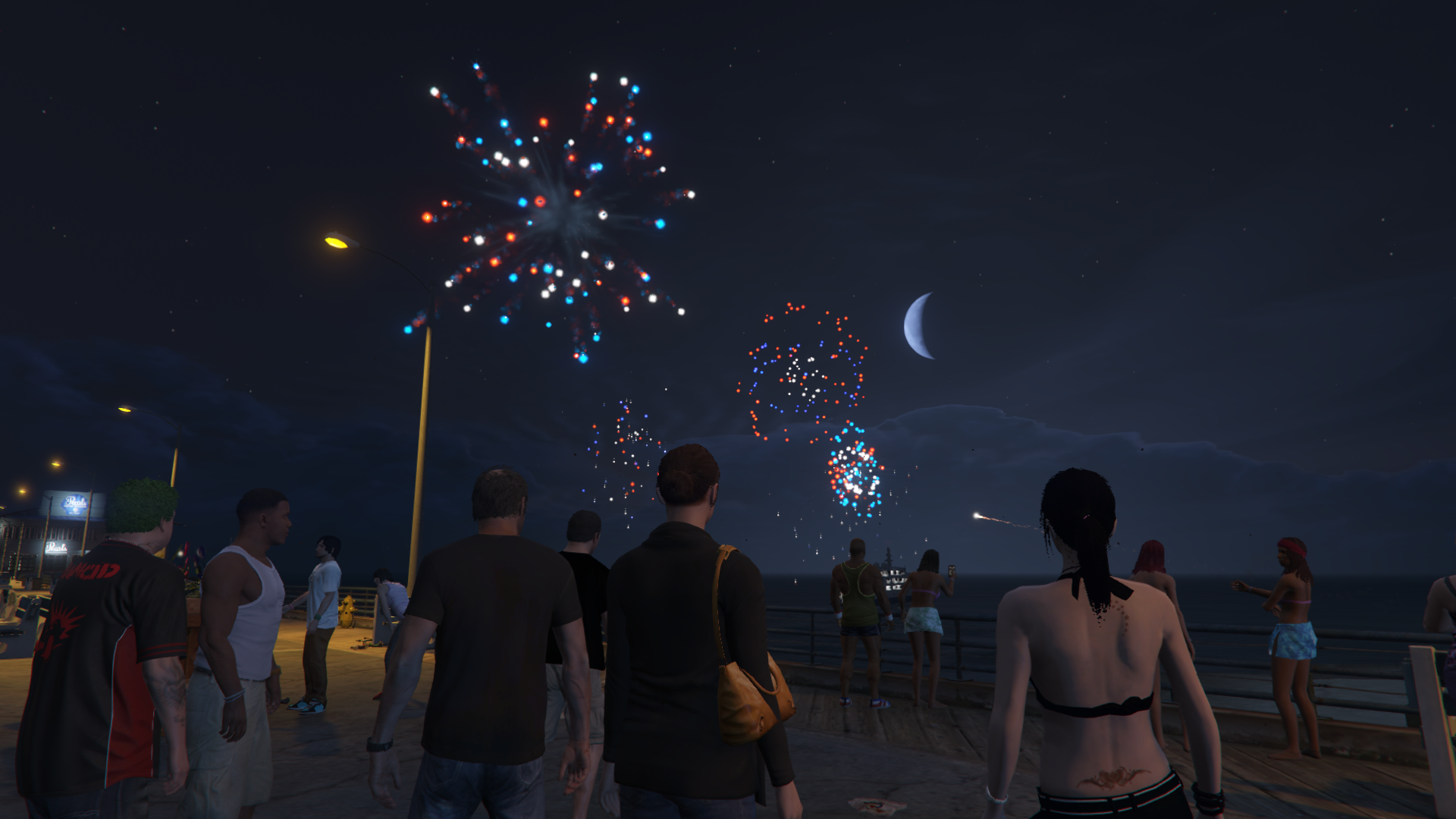 how to get fireworks in gta 5 2017