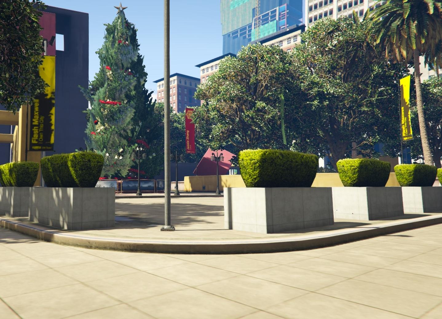 FiveM Blokkenpark / Legion Square Map Edit (Christmas) [YMAP] - GTA5