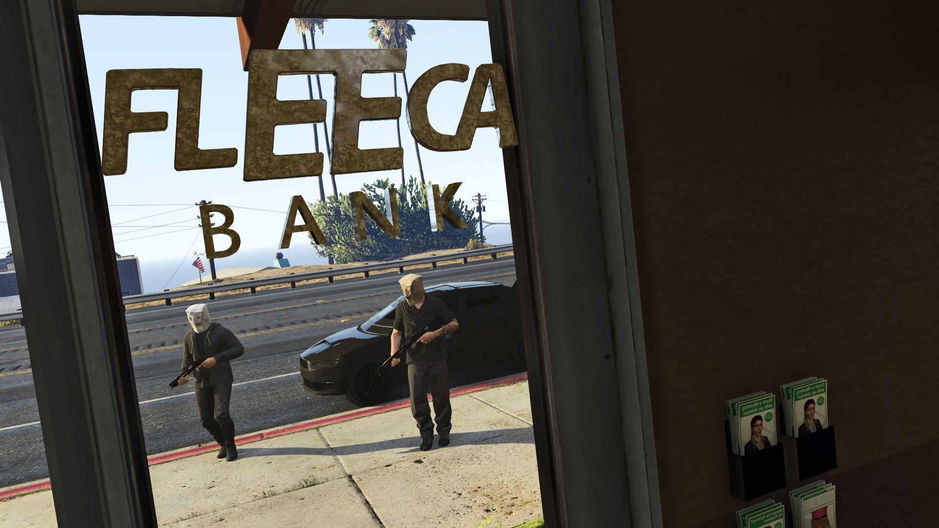 how to start fleeca heist