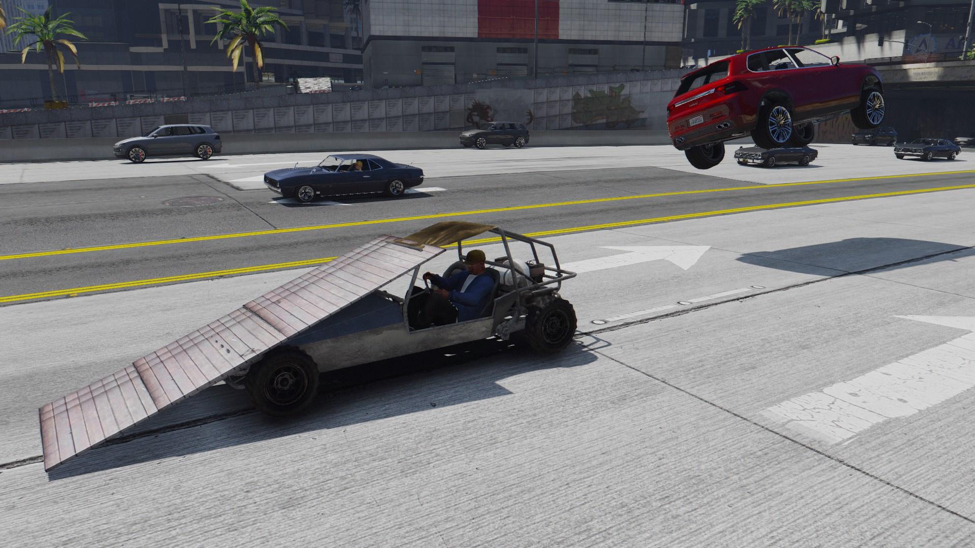 Flip Car (Ramp Car) [Menyoo] - GTA5-Mods com