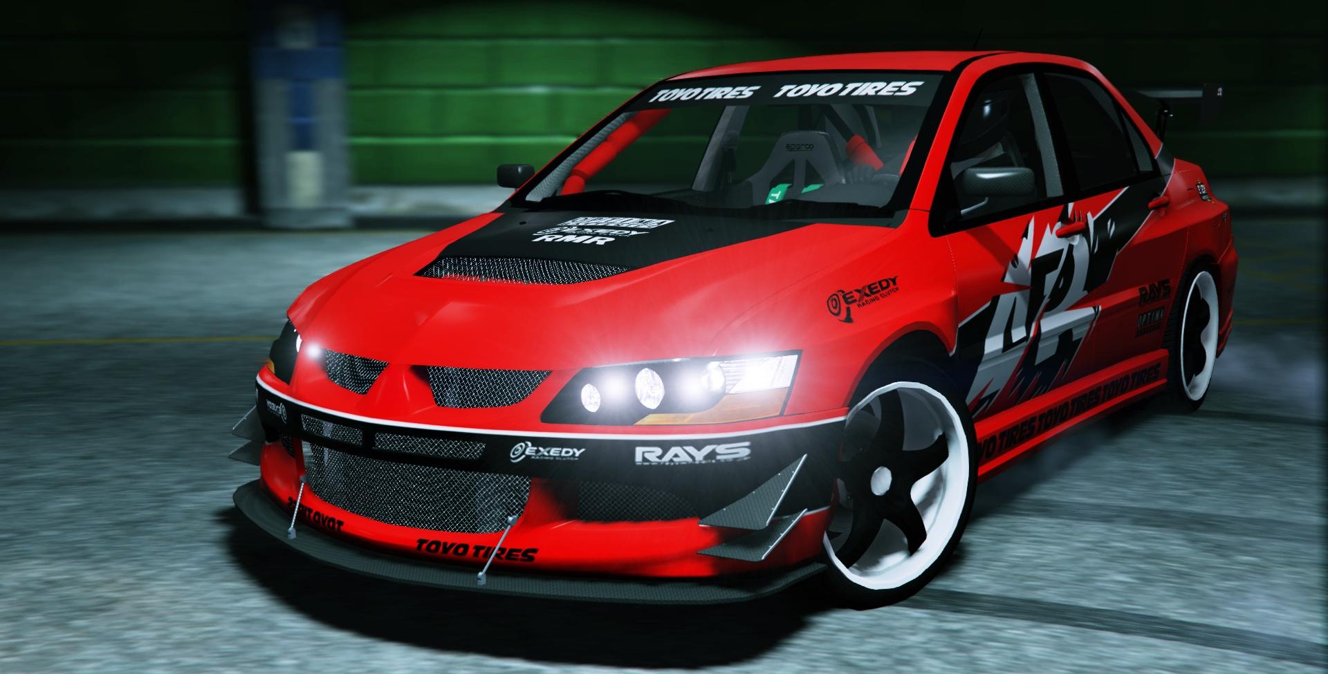 Fnf Tokyo Drift 2006 Mitsubishi Lancer Evolution Ix Gta5 Mods Com