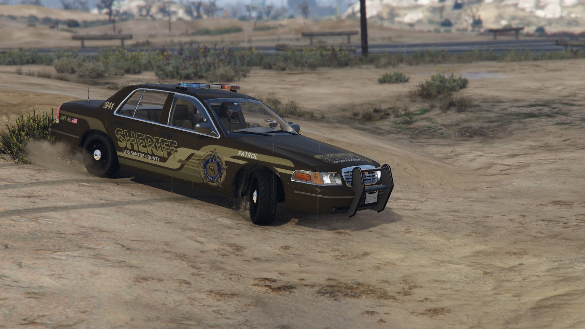 ford crown lspd sheriff pack  addon