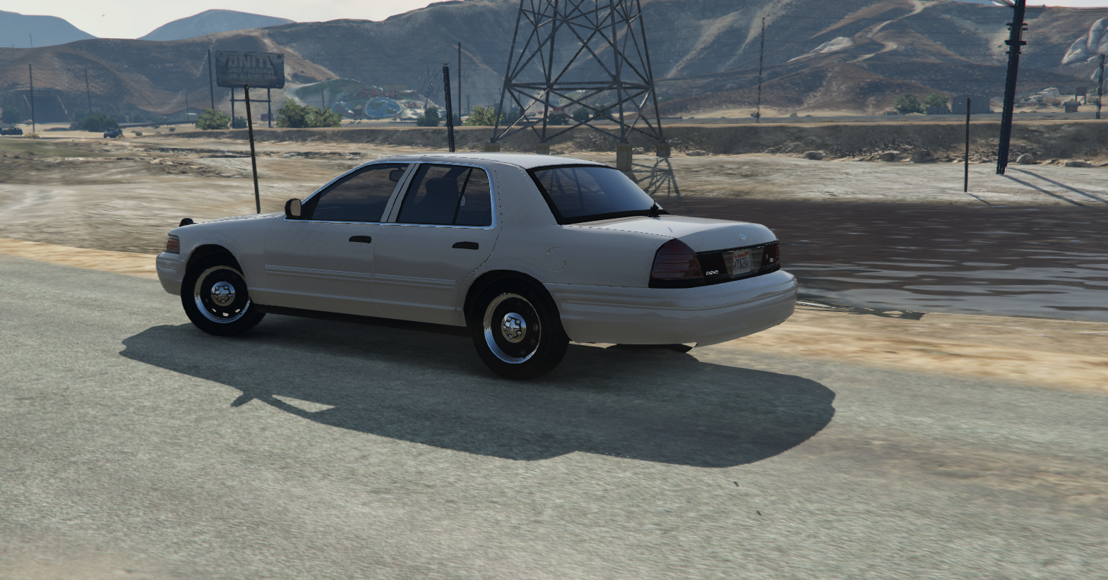 ford crown victoria 2011 retired add on gta5 mods com