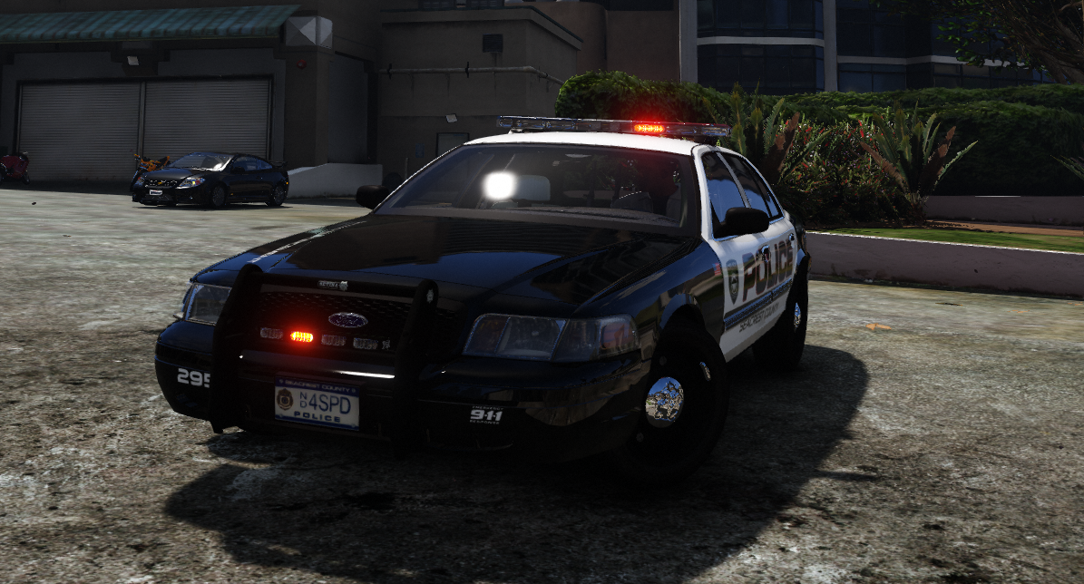 Ford Crown Victoria Cvpi Need For Speed Hot Pursuit Scpd Add